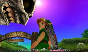 Link & Moon